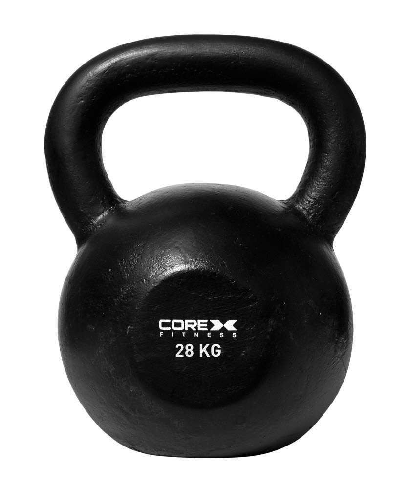 CLEARANCE-CoreX-Cast-Iron-Kettlebell-8kg-32kg-FAST-FREE-DELIVERY