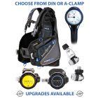 Aqua Lung Pro HD BCD, Core Supreme Regulator, Core Supreme Octopus & Gauge