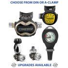 Cressi T10 SC Master Regulator, Compact Octopus & Gauge