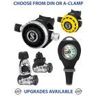 Scubapro MK17 EVO/G260 Regulator, R195 Octopus & Gauge