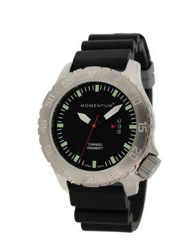 Momentum Torpedo Rubber Sapphire Dive Watch