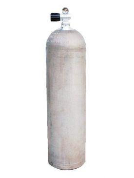 Beaver 11.1 Litre Natural Aluminium Cylinder