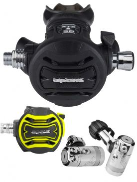 Apeks DST / XTX50 Regulator & Octopus Set