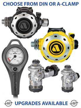 Apeks MTX-RC Regulator, MTX-RC Octopus & Gauge