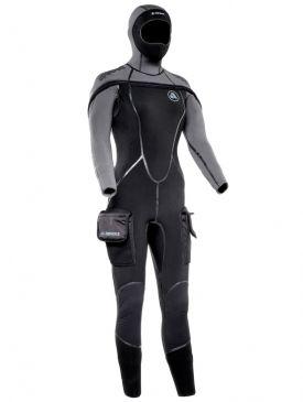PRE ORDER - Apeks ThermiQ 8/7mm Wetsuit Ladies
