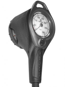 Apeks Pressure Gauge Console + Compass