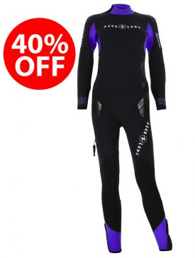 40% OFF - Aqua Lung Balance Comfort 5.5mm Womens Wetsuit