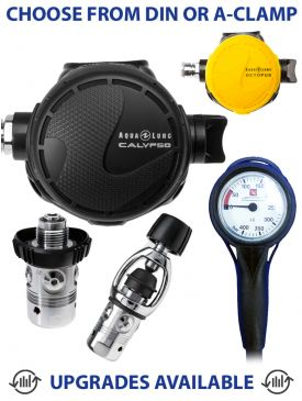 Aqua Lung Calypso Regulator, Calypso Octopus & Gauge