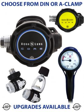 Aqua Lung Core Supreme Regulator, Core Octopus & Gauge