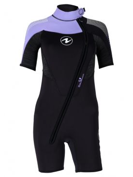 Aqua Lung Dynaflex Front Zip 5.5mm Shortie Ladies