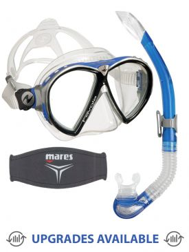 Aqua Lung Favola Mask, Snorkel & Mask Strap