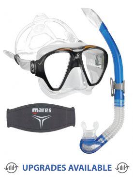 Aqua Lung Impression Mask, Snorkel & Mask Strap