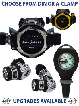 Aqua Lung Leg3nd MBS Regulator, Leg3nd Octopus & Gauge