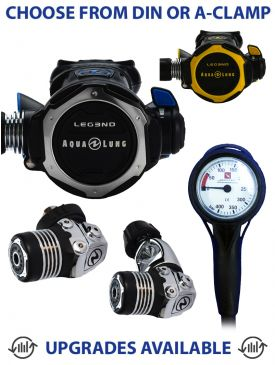 Aqua Lung Leg3nd Regulator, Leg3nd Octopus & Gauge