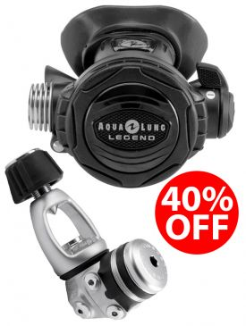 40% OFF - Aqua Lung Legend Supreme Regulator - A-Clamp