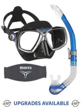 Aqua Lung Look 2 Mask, Snorkel & Mask Strap
