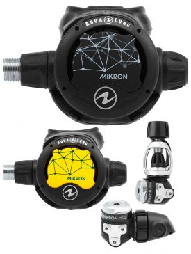 Aqua Lung Mikron Regulator & Octopus Set