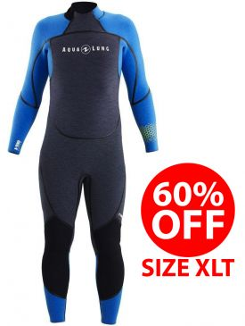 60% OFF - Aqua Lung Aqua Flex 5mm Mens Wetsuit - Size XLT