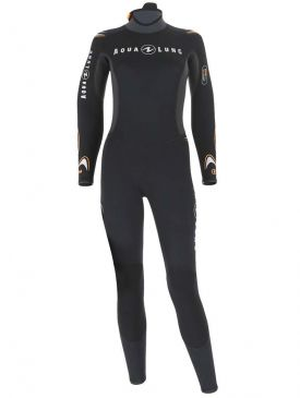 Aqua Lung Dive Jumpsuit 7mm Womens Wetsuit