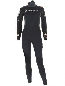 Aqua Lung Dive Jumpsuit 5.5mm Womens Wetsuit