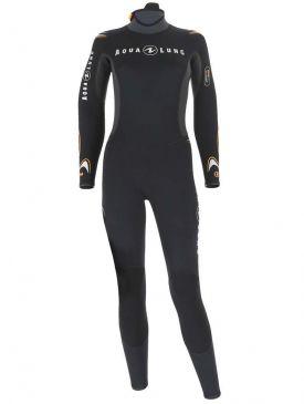 Aqua Lung Dive Jumpsuit 3.3mm Ladies Wetsuit