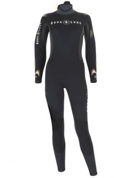 CLEARANCE - Aqua Lung Dive Jumpsuit 7mm Womens Wetsuit - X-Small
