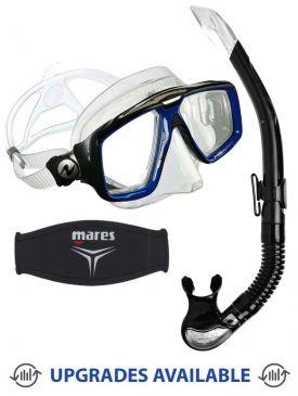 Aqua Lung Look HD Mask, Snorkel & Mask Strap