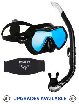 Aqua Lung Mistique DS Mask, Snorkel & Mask Strap