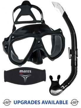 Aqua Lung Teknika Mask, Snorkel & Mask Strap