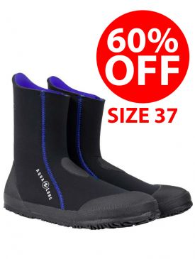 CLEARANCE - 60% OFF - Aqualung Ellie Ladies 5mm Dive Boots  - Size 37