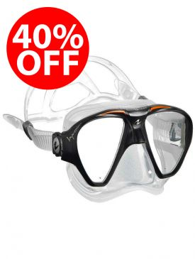 40% OFF - Aqua Lung Impression Mask - Orange
