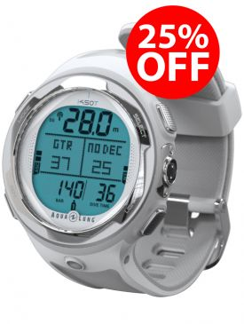 25% OFF - Aqua Lung i450T Dive Computer - White