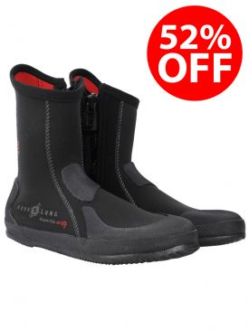52% OFF - Aqua Lung 5mm Superzip Ergo Dive Boot