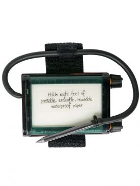 AquaSketch Minno Waterproof Scrolling Slate
