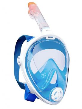 Aquatics Adult Full Face Surface Easybreath Snorkeling Mask