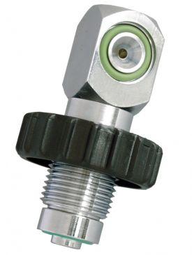 Beaver 232 Bar A-Clamp/300 Bar DIN Male Charging Adaptor
