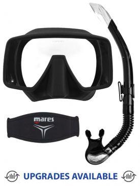 Beaver Frameless Mask, Snorkel & Mask Strap