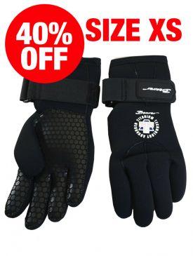CLEARANCE - Beaver G4 5mm Titanium Gloves - XS