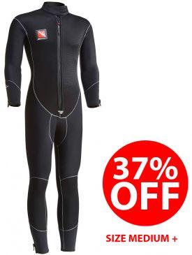 CLEARANCE 37% OFF - Beaver Ocean-Flex 5mm Semi-dry Suit - Medium Plus