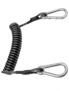Beaver Cable Carabiner Spring Line
