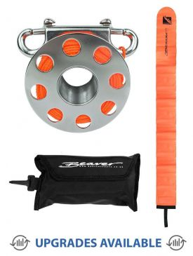 Beaver Stainless Steel Finger Reel & SMB