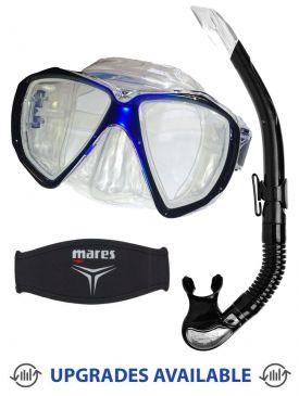 Beaver Focus Mask, Snorkel & Mask Strap