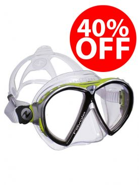 CLEARANCE - 40% OFF - Aqua Lung Favola Diving Mask - Lime