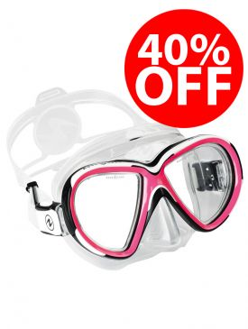 CLEARANCE - 40% OFF - Aqua Lung Reveal X2 Mask - Pink