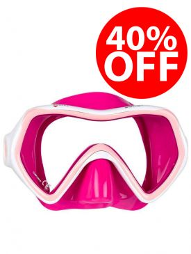CLEARANCE - 40% OFF - Mares Comet Mask - Pink