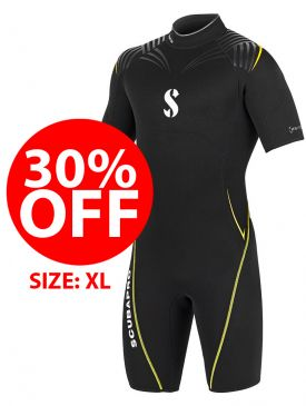CLEARANCE - 30% OFF - Scubapro Definition Shorty 2.5 - Mens - X-Large