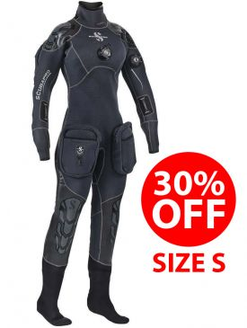 30% OFF - Scubapro Everdry 4.0 PRO Drysuit - Womens - Size S