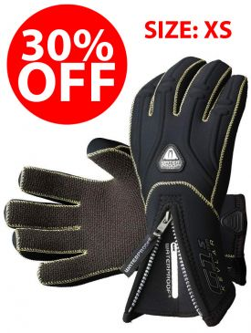 CLEARANCE - 30% OFF - Waterproof G1 5mm Kevlar Gloves - Size XS
