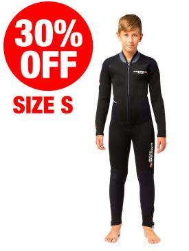 CLEARANCE - 30% OFF - Cressi Endurance 5mm Junior Wetsuit - Size S