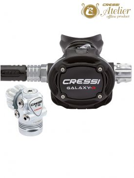 Cressi T10 SC Cromo Galaxy Adjustable Regulator